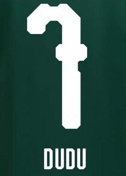 Personalização Dudu + número 7