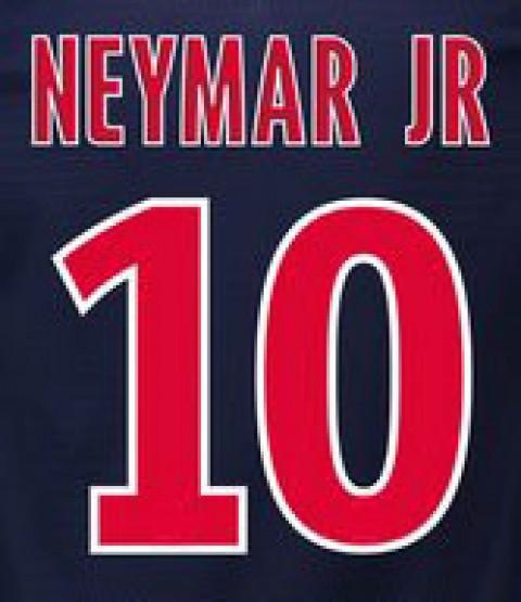 Personalização Neymar + número 10